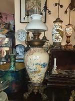 Nagyméretű Fischer asztali petróleum lámpa