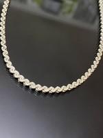 Csodálatos ezüst nyaklánc
