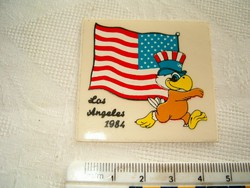 1984 Los Angeles olimpia matricája nálam kb 1985 óta van matrica eredeti
