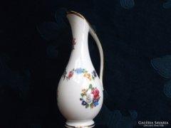 Royal KPM Kézzel festett virág füzéres kancsó váza
