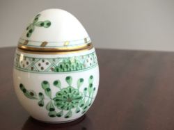Húsvétra! Különleges waldstein mintás Herendi tojás bonbonier