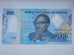 Angola 200 kwanza 2020 UNC Polymer