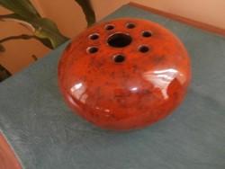 Retro ikebana gömbváza