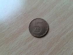Lengyelország 5 Zlotych 1984