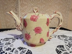Eladó régi porcelán  Elvíra Berhard rózsás teás kanna!