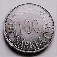 Ezüst 100 Márka ritka Finnország
