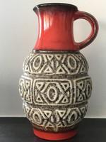 Retro német kerámia váza a 60-as évekből, Ü Keramik