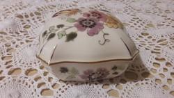 Zsolnay Pillangós bonbonier, doboz, gyönyörű akár ajándéknak is kiváló