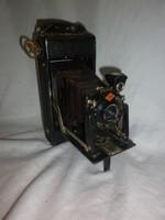 Antik agfa harmonikás fényképezőgép