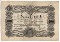 100 Száz forint 1848 Kossuth bankó 1.