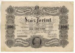 100 Száz forint 1848 Kossuth bankó 3.