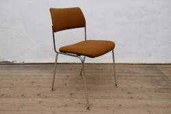 Régi Albert Stoll Giroflex AG CH-532 / Króm szék / Retró designer / Mid Century / 70-es évek