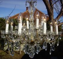 Kristálycsillár 12égős kristály csillár
