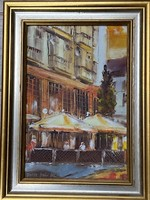 Pintér István Pál olaj festmény