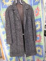 Nagyon régi elegáns 100% gyapjú férfi téli kabát