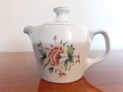 Retro Hollóházi kotyogós kávéfőző régi porcelán kiöntő