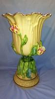 Ritka antik herendi nagyméretű váza