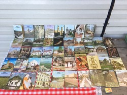 48 darab Tájak Korok Múzeumok Kiskönyvtára - város - sok útikönyv