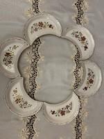 Zsolnay Pillangós csontos tányérkészlet