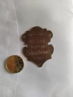 Régi réz adományozó Schönbrunn