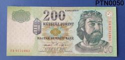 2006-os 200 Ft-os bankjegy UNC
