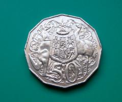 Ausztrália 50 cent, 2008  - II. Erzsébet királynő