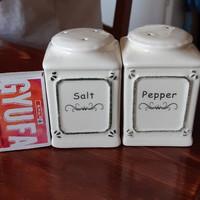 Vintage jellegű só és borsszóró