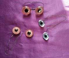 Régi mackó szemek - 3 pár
