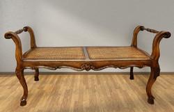 Barokk szófa pad kanapé ülőke