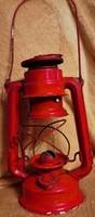 Piros jelzett csehszlovák viharlámpa