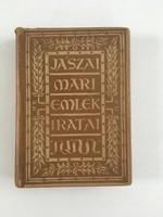 Jászai Mari emlékiratai, 1930.