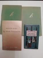 Bernáth Aurél - 4 könyve