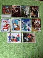 Karácsonyi használt képeslapok