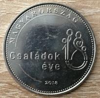 50 Forint 2018 - Családok Éve