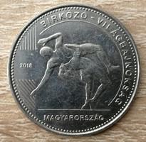 50 Forint 2018 - Birkózó VB