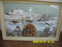 """DALLOS FERENC ""  /1928-2001/ Képcsarnokos eredeti  olaj  festménye"