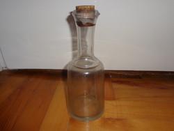Régi üveg palack eladó  'Kellermayer vendéglője