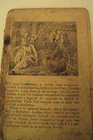 Nagyon RÉGI antik, (19.sz.) Biblia történeti ismertető illusztrált könyv. /Ó-Szövetség+Új-Szövetség/