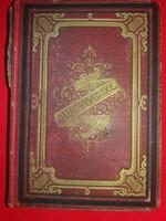 Antik 1877 Dalkönyvecske elfeledett magyar dalok  óriási gyűjteménye könyvbe kötve képek szerint