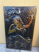 Domborlemez kép, táncoló spanyol nő eladó!