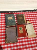 Kézzel írt recept füzet könyv cukrász süteményes szett + Háztartási és szakácskönyv 1905 Budapest