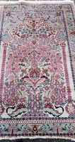 Értékes Ghom Selyem Kézi Pezsa szőnyeg