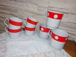 Orosz porcelán bögrék