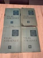 Világtörténet 1-4 kötet