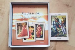 Kimberly Marooney: Meditációk angyalkártyával könyv+44 kártya