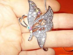 Swarovski Kristály Pillangó Nyaklánc