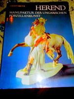 Dr. Sikota Győző Herend porcelánművészete-Dr. Sikota Győző--porcelán jegyekkel német nyelvű