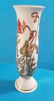 Zsolnay váza szép dús dekorral