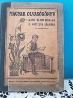 Magyar Olvasókönyv  kath.elemi iskolák II osztálya számára 1934