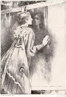 Ary Renan (1857-1900): Éjjeli lepke. (La Phalene)